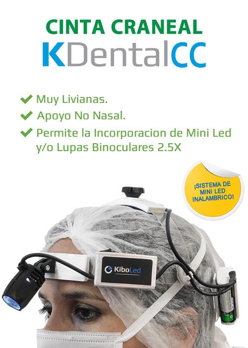 Cinta Craneal para Odontología KDental - Kibovisión