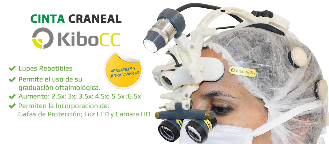 Cinta Craneal para Cirugía KiboCC