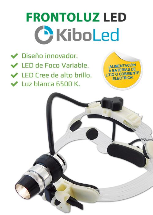Frontoluz Led para uso Medicinal KiboLed - Kibovisión