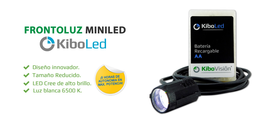 Frontoluz Mini Led KiboLed - Kibovisión